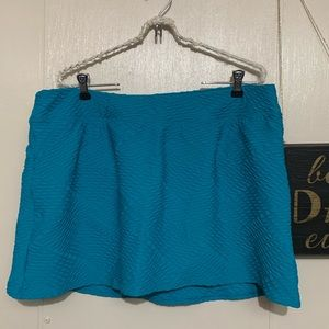 Lands End Swim Skirt Size 16